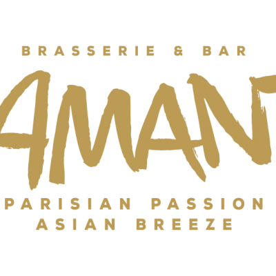 Lamant Logo - With Text - Gold