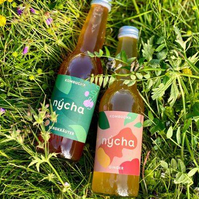 Vegans of Zürich nÿcha bergkräuter ginger bottles